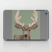 antlers iPad Cases featuring Antlers by ArtLovePassion