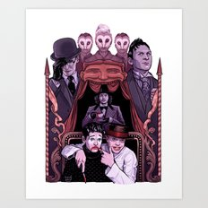 GOTHAM3 Art Print