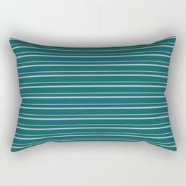 Benjamin Moore 2019 Color of the Year 2019 Metropolitan Light Gray on Beau Green 2054-20 Rectangular Pillow