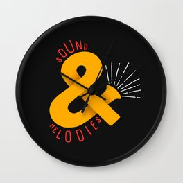 Sound & Melodies Wall Clock