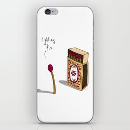 Light My Fire iPhone Skin