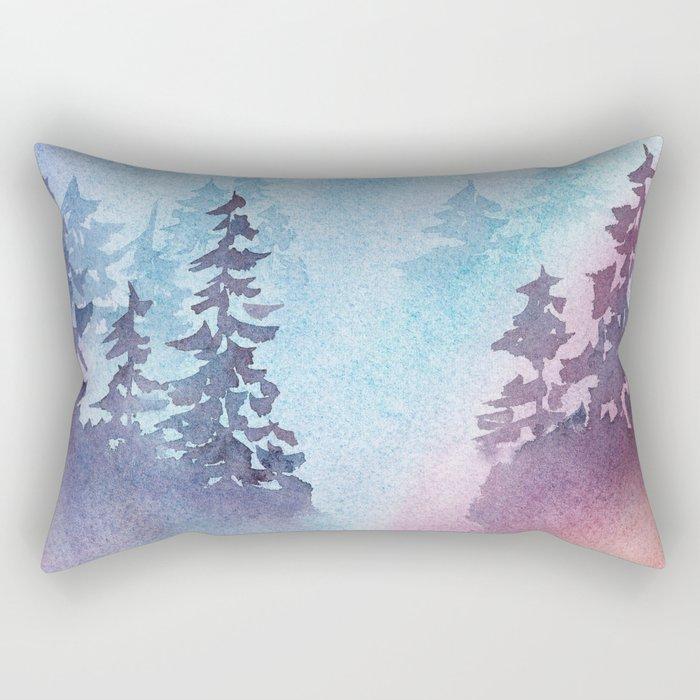 Mystified Rectangular Pillow