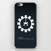 interstellar iPhone & iPod Skins featuring Interstellar by Duck Cartel
