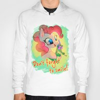 mlp Hoodies featuring MLP: Don't forget to smile! by Erin Liona