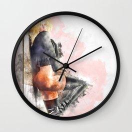 Back Street Wall Clock