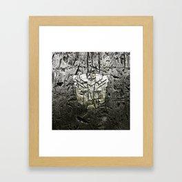 Autobot steel Framed Art Print