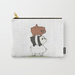 We Bare Bears by Maria Piedra Carry-All Pouch