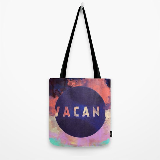 Vacant by Galaxy Eyes & Garima Dhawan Tote Bag