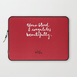 Blood-red Laptop Sleeve