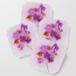 A Floral Sprig Coaster