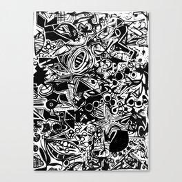 Black/White #1 Canvas Print