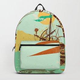 VINTAGE GALLEON Backpack