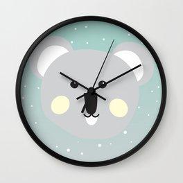 Cute Drop Bear Wall Clock