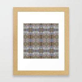 stone lace Framed Art Print