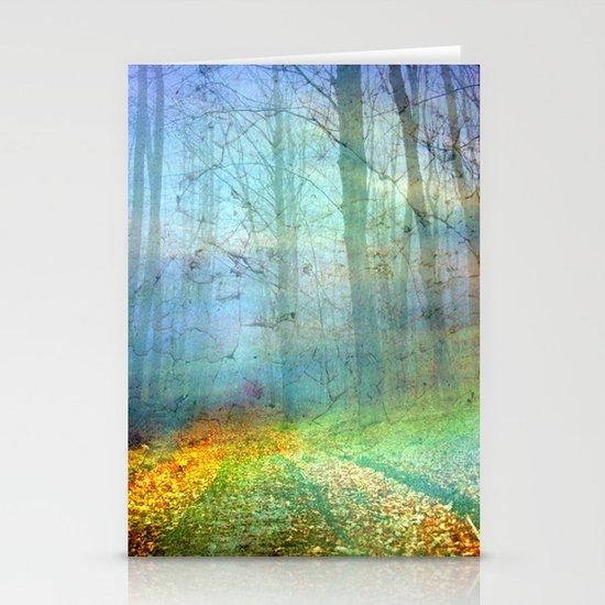 Forêt enchantée Stationery Cards