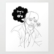 Kees & Gees Art Print