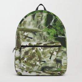 Tropical Mandala Backpack