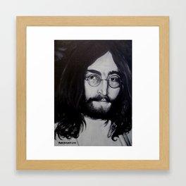 HAIRPEACE Framed Art Print