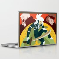 metal gear solid Laptop & iPad Skins featuring Metal Gear Solid 2: Sons of Liberty by Monserratt