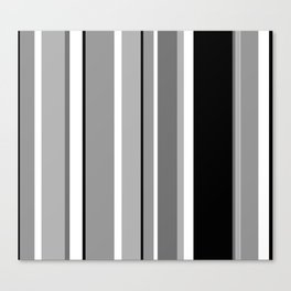 Stripes, the right way Canvas Print