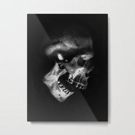 afterlife white Metal Print