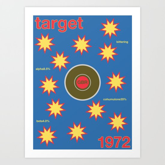 target single hop Art Print