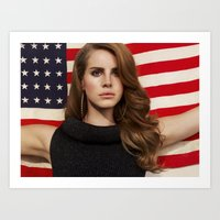 american Art Prints featuring American by Michelle Rosario