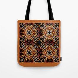 Gender Equality Tiled - Earth Tones Tote Bag