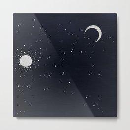 Under the moonlight Metal Print