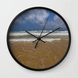 Surf on Karon Beach Wall Clock
