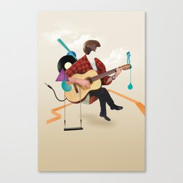 ILOVEMUSIC #1 Canvas Print