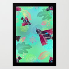 Poppy In Flight Art Print