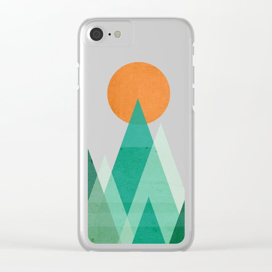 No mountains high enough Clear iPhone Case