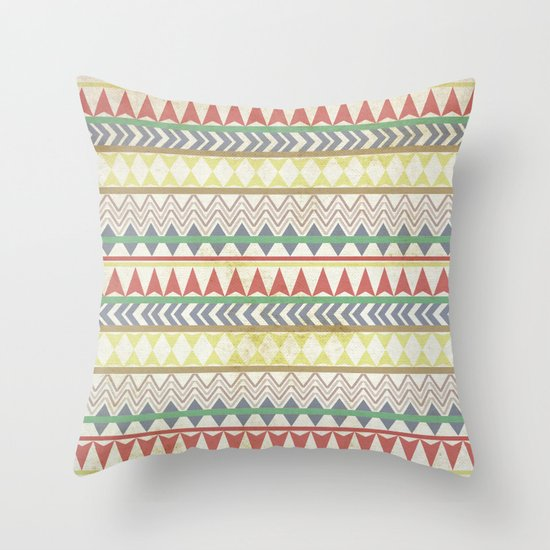Long Afternoon Throw Pillow