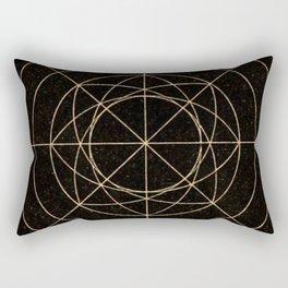 Geometry2 Rectangular Pillow