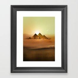 Station Pyramid Day Framed Art Print