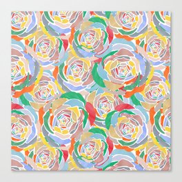 Lively Florals Canvas Print