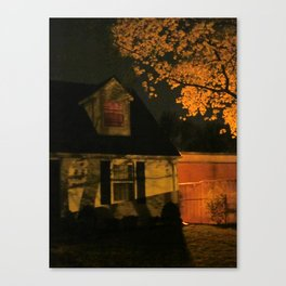 I Had Many Nightmares Canvas Print