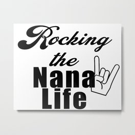 Nana Metal Print