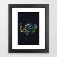 Manimals - Genesh Framed Art Print