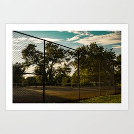 Tennis Sucks Art Print
