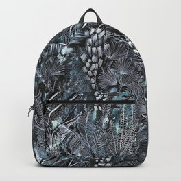 Busy Forest Print Backpack