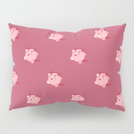 The cutest evil demon ever! pattern Pillow Sham