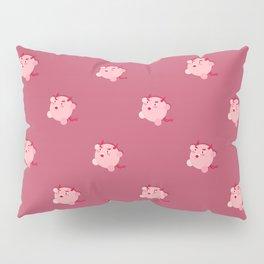The cutest evil demon ever! pattern Pillow Sham