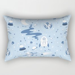 The Milky Milky Way - Space Rectangular Pillow
