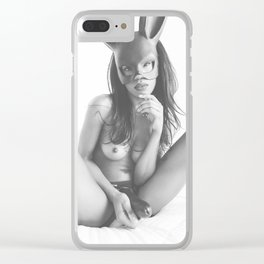 this is gonna hurt a bit Clear iPhone Case