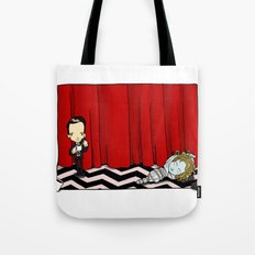 February 24th, Entering the town of Twin Peaks Tote Bag