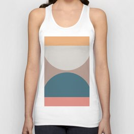 Abstract Geometric 23 Unisex Tank Top
