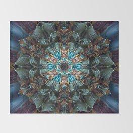 Mandala of aristocracy Throw Blanket