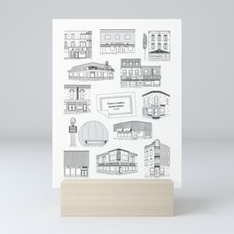 Casse-croûtes légendaires montréalais / Montreal Delis + Mini Art Print